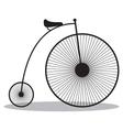 High wheeler vector image