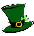 leprechaun hat vector image