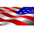 al 0641 american flag vector image vector image
