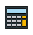 calculator accounts operation financial device vector image