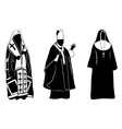 priests vector image