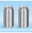 Aluminum Drink Cans Vector Image