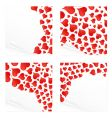 love reminder notes vector image vector image