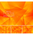 fractal abstract background vector image vector image