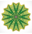 abstract colorful ornament vector image