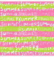 two tone summer doodle seamless pattern vector image