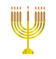 Chanukah icon vector image