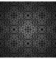 Vintage black pattern vector image
