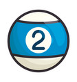 pool sport game vector image