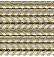 Golden chevron seamless pattern Horizontal lines vector image vector image