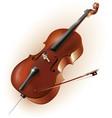 Classical cello vector image