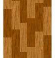 wooden parquet floor vector image vector image