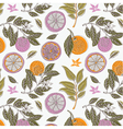 Vintage craft wrapping paper vector image