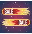 Comet Sale vector image