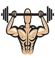 muscle9 vector image
