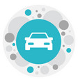 of family symbol on car icon vector image