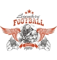 American Football - for t-shirt vector image
