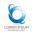 Logo Circle Company O Lettermark vector image