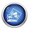 Two travel photograph icon vector image vector image