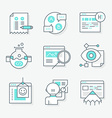 Website Redesign Icons vector image vector image