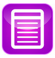 notes app icon vector image