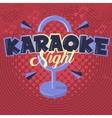 Karaoke Night Image vector image