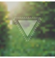 Unfocused summer poster vector image vector image