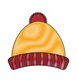 winter clothing icon image vector image