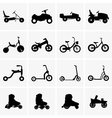 Children transport vector image