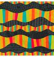 wavy stripes Mosaic seamless abstract wave vector image