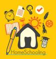home schooling vector image vector image