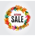 Autumn Leaves Sale Background vector image