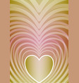 abstract vertical background with heart shape in vector image