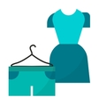 Woman dress vector image