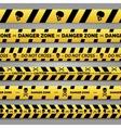 Danger tape set vector image