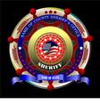 al 0648 sheriff vector image vector image