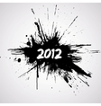 new year grunge design vector image