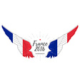 European championship 2016 Abstract Wing with vector image
