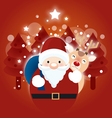 Background Christmas vector image vector image