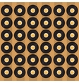 vinyl record pattern background image vector image