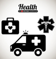 Health care design vector image
