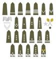 Polish Army insignia vector image