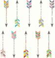 Tribal Arrow Collection vector image