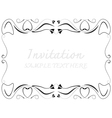 decorative frames vector image