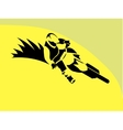 Motorcycle Rider sign vector image