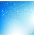 Star night and snow fall bakcground 004 vector image