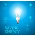 Saving energy 3 vector image