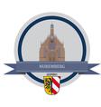 Nuremberg vector image