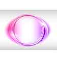 abstract round on white purple vector image vector image