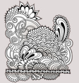 Hand drawn doodle vector image
